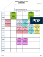 Horario Academico 2019-2019