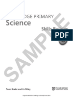 Cambridge Primary Science Skills Builder 6 Sample