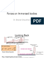 Forces on Imerssed Bodies