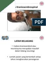Cedera cranioserebrosplinal