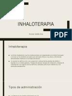 Inhaloterapia Nico