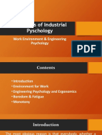 Industrial Psychology Presentation Unit 3