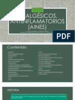 Analgésicos, antiinflamatorios (AINES).pptx