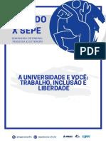 Anais Do X SEPE - Seminário de Pesquisa, Ensino e Extensão