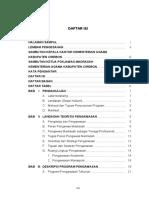 Daftar Isi Program Pengawasan