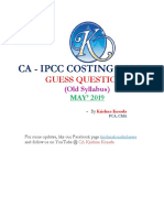 Costing and FM - Guess qustions -Old.pdf