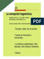 11 Epidemiologia I