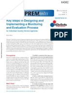 1a-Key Steps in Designing and Implementing a Monitoring and Evaluation (M&E) System