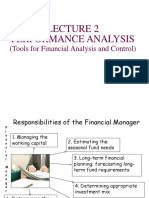 FN - Tools of Financial Analysis and Control
