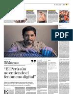 El Perú No Entiende El Fenómeno Digital