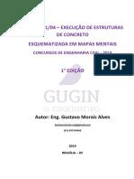 NBR 14.931/04 – EXECUÇÃO DE ESTRUTURAS DE CONCRETO  ESQUEMATIZADA EM MAPAS MENTAIS