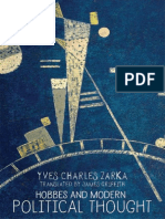 Yves Charles Zarka - Hobbes and modern political thought (2016, University Press).pdf