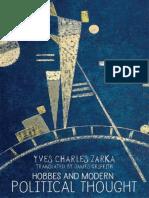 Yves Charles Zarka - Hobbes and modern political thought (2016, University Press).pdf