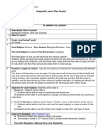 integrated lesson plan 1