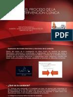El Proceso de La Intervención Clínica-cedei