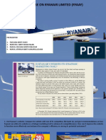 Mini Case on Ryanair Limited (Ryaay)
