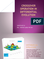 Crossover Operation in Differential Evolution