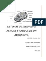 Sistemas de Seguridad en El Automóvil