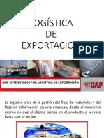 Logistica de Exportacion -Exponer