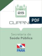2019.04.25 - Clipping Eletrônico