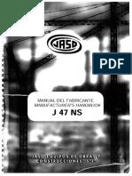 Manual de fabricantes J 47 NS.pdf
