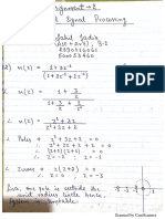 DSP Assignment II Solutions