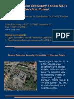 Liceum Ogólnokształcące No.11, Poland