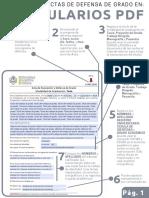 Uso de Las Actas de Defensa en Formato PDF (Formulario)