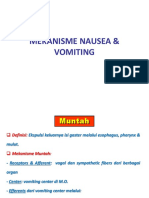 Mekanisme Nausea & Vomiting