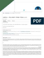 GARCIA v. WAL-MART STORES _ 893 F.3d 278 (2018) _ 20180618091 _ Leagle.com
