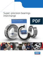 SKF Super Precision Bearings Interchange