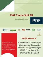 Slides - Ciap 2 No E-sus-Ab