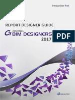 BD Report Designer Guide 2017 En