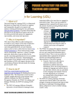 Universal Design for Learning article