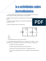 Ejercicio Sobre Electrodinámica T T