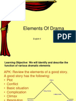 Elements of Drama theatre