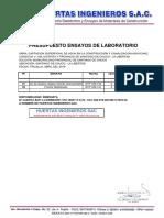 Presupuesto Municipalidad Provincial de Santiago de Chuco - Ensayos