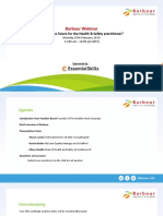 What is the Future for the Health Safety Practitioner Webinar Slide Pack