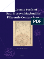 The Cosmic Perils of Qadi Husayn Maybudi in Fifteenth Century Iran by Alexandra Dunietz.pdf