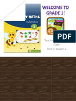 English for Primary maths U2-Lesson 2 - grade 1