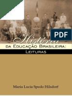 Historia da educação brasileira-Maria Lucia Spedo