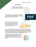 Práctica Flujo Eléctrico y Ley de Gauss