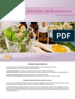Fitoterapicos - Interações medicamentosas