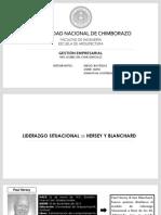 Grupo 4 Liderazgo Situacional de Hersey y Blanchard 16-04-2019