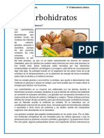 Carbohidratos y Diabetes