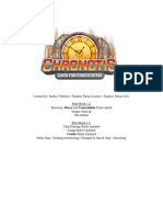 Chronotis Rule Book 1.2