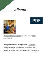 Integralismo - Wikipedia