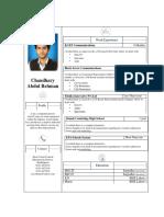 CV Abdul Rehman