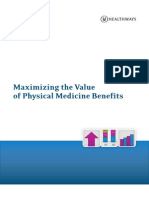 Physical Medicine Benefit Management