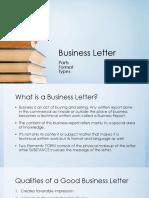 Midterm Business Letter